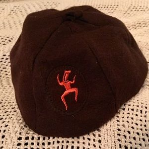 Vintage Brownie Beanie Hat Costume Accessory? Sz L